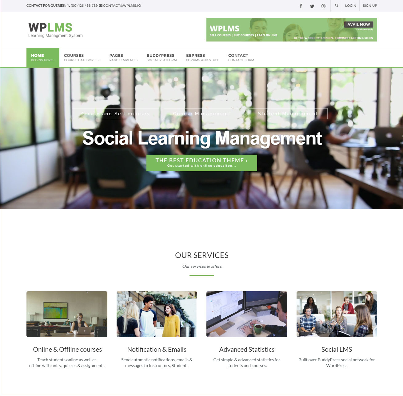 custom_wplms_learning_management_system_knowtion
